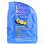 Lottabody Coconut & Shea Oils Hydrate Me Conditioning Masque 1.5oz