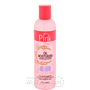 Luster's Pink Oil moisturizer Hair Lotion - Light 8oz
