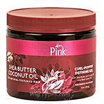 Luster's Pink Shea Butter Coconut Oil Curl-Poppin' Defining Gel 16oz