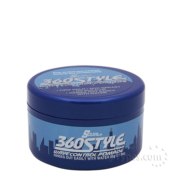 Lusters Scurl 360 Style Wave Control Pomade 3oz - WigTypes.com