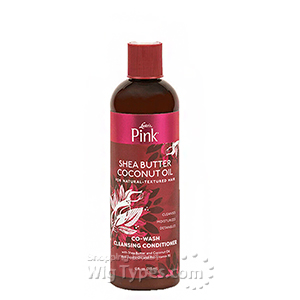 Luster's Pink Shea Butter Coconut Oil Co-Wash Cleansing Conditioner 12oz
