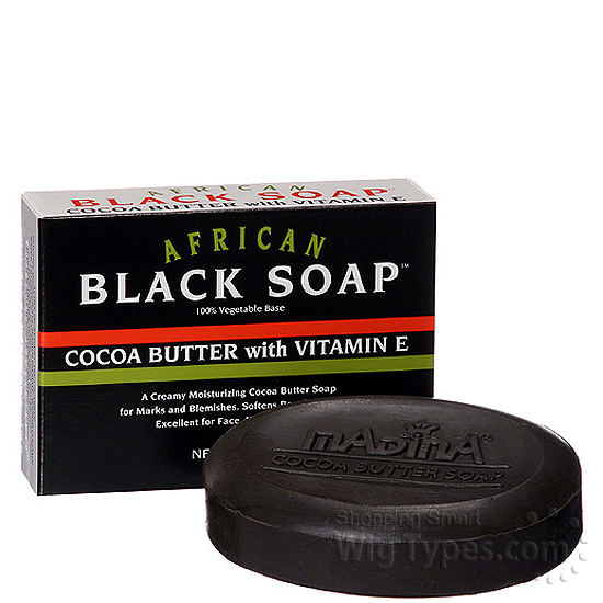 Black soap for dark spots