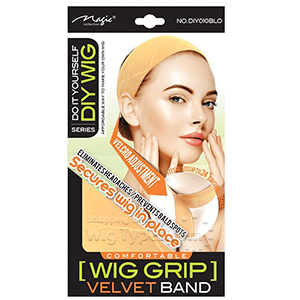 Magic Collection #DIY010BLO DIY WIG Wig Grip Velvet Band - Blond