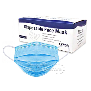 Disposable Face Mask - 50PCS/BOX