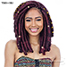 Mayde Beauty Synthetic CUBAN TWIST BRAID 18