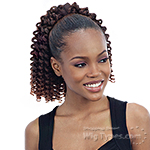 Mayde Beauty Synthetic Drawstring Ponytail - BUBBLY DOLL
