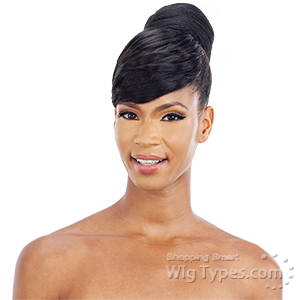 Mayde Beauty Synthetic Bun and Bang - LOVELY DAY (2pcs)