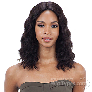 Mayde Beauty Lace & Lace 100% Human Hair 5 inch Lace Wig - LOOSE DEEP