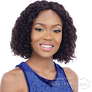 Mayde Beauty Lace and Lace 100% Human Hair Lace Front Wig - DEEP WAVE