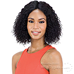 Mayde Beauty Lace and Lace 100% Human Hair Lace Front Wig - SUPER WET & WAVY (SHORT)