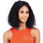 Mayde Beauty Lace and Lace 100% Human Hair Lace Front Wig - SUPER WET & WAVY(MED)