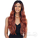 Mayde Beauty Synthetic Invisible 5 inch Lace Part  Wig - EMINI