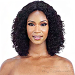 Mayde Beauty 100% Human Hair Wet & Wavy Invisible Lace Part Wig - LOOSE DEEP
