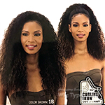 Mayde Beauty Synthetic Half Wig - Drawstring Fullcap - CURL-CATION
