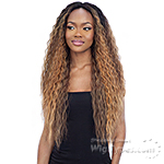 Mayde Beauty Synthetic Invisible 5 inch Lace Part Wig - SUPA CURL