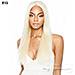 Isis Melanin Queen Human Hair Blend Brazilian Ear To Ear Lace Wig - MLE02 EAR TO EAR YAKY SLEEK 26