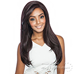 Isis Melanin Queen Human Hair Blend Frontal Lace - MLF04 BOB STRAIGHT 26 (13x4 free parting)
