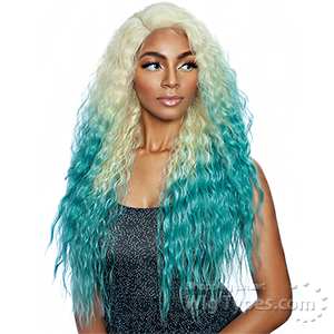 Isis Melanin Queen Human Hair Blend Lace Front Wig - ML2902 COSMO GIRL 2