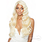 Isis Melanin Queen Human Hair Blend Lace Wig - MLE03 LOOSE WAVE 26 (ear to ear wide lace part)