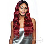Isis Melanin Queen Face Part Lace Part Wig - MLFV102 CARDI WAVE 26