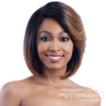 Milky Way Human Hair Blend Lace Front Wig - HARMONY 111