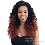 Milky Way Human Hair Blend Lace Front Wig - HARMONY 112