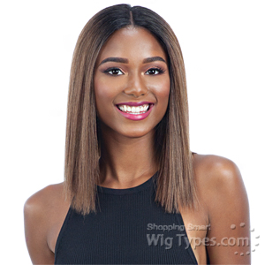 Milky Way Human Hair Blend Lace Front Wig - HARMONY 115