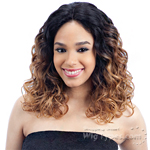 Milky Way Human Hair Blend Lace Front Wig - HARMONY 113