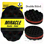 Miracle Hair Brush Double Sided Sponge E (6pcs Bundle)