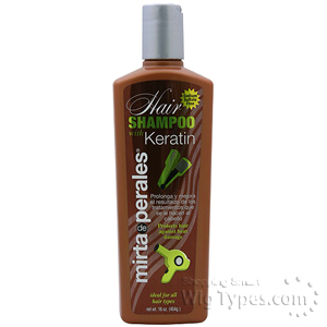 Mirta De Perales Hair Shampoo With Keratin 16oz