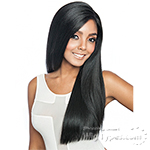 Isis Melanin Queen Human Hair Blend Brazilian Frontal Lace - MLF01 YAKY STRAIGHT 24 (13x4 free parting)
