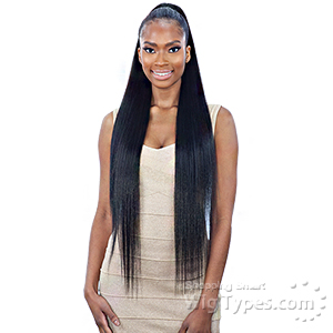 Model Model Synthetic Drawstring Ponytail - SILKY STRAIGHT 32