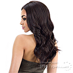 Model Model Synthetic Hair Deep Invisible Part Wig - BUENA
