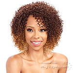 Model Model Synthetic Hair Lace Deep Invisible L Part Lace Front Wig - CHERRY MEADOW