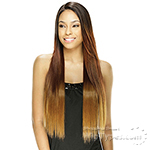 Model Model Synthetic Hair Lace Deep Invisible L Part Lace Front Wig - LIGHT