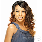 Model Model Synthetic Hair Lace Deep Invisible L Part Lace Front Wig - BALLAD