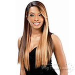Model Model Synthetic Hair Lace Deep Invisible L Part Lace Front Wig - MUZE