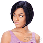 Model Model Synthetic Hair Deep Invisible L Part Wig - FEEL
