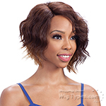Model Model Synthetic Hair Lace Deep Invisible L Part Lace Front Wig - SUNNY MEADOW