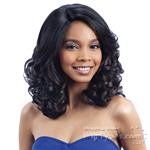 Model Model Synthetic Hair Deep Invisible L Part Wig - JACOBA