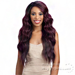 Model Model Synthetic Hair Deep Invisible L Part Wig - JACY