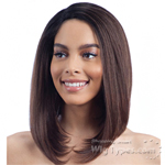 Model Model Synthetic Hair Deep Invisible L Part Wig - JAMILA