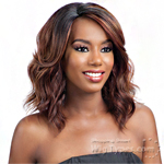 Model Model Synthetic Hair Deep Invisible L Part Wig - JINA
