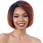 Model Model Synthetic Hair Deep Invisible L Part Wig - JUNO