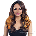 Model Model Synthetic Hair Lace Deep Invisible L Part Lace Front Wig - TOP MEADOW