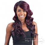 Model Model Lace Deep Invisible 3 Way Part Lace Front Wig - BIZZY