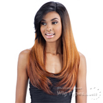 Model Model Synthetic Hair Lace Deep Invisible L Part Lace Front Wig - DAIJA