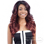 Model Model Deep Invisible Diagonal Part Lace Front Wig - DARICA