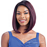 Model Model Synthetic Lace Deep Invisible Part Lace Front Wig - DIDI