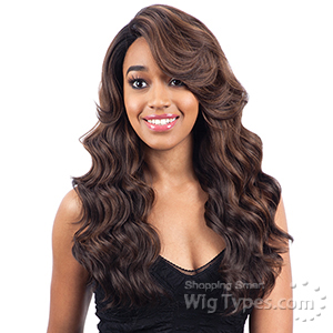 Model Model Synthetic Hair Clean Cap Lace Wig - CHRISSY